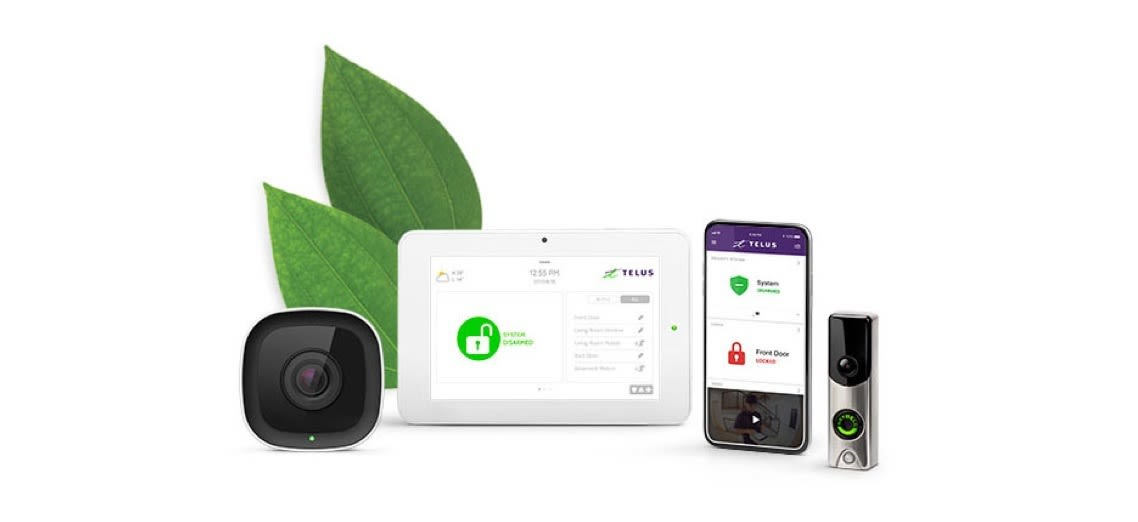 Components of Telus Smart Security